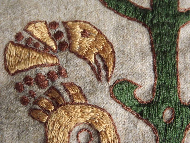 Beautiful Viking Stickmuster Crest - Decke Stricken Muster ...