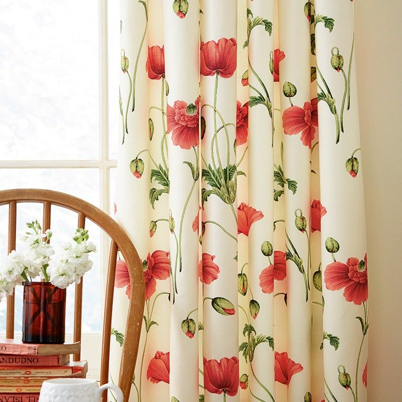 Sanderson Persian Red Poppy Bedding At Bedeck Home Red Bedding Curtains Luxury Bedding