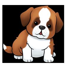 saint bernard dog lots of clip art on this site animals rh pinterest com puppy dog clip art free puppy dog clip art free
