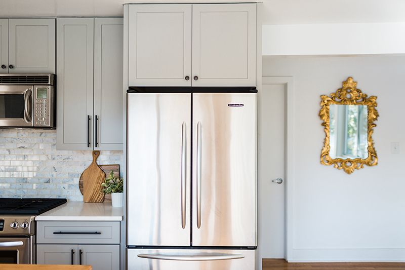 Kristin Corrigan S Home Is The Definition Of Blissful Kitchen Remodel Design Home Home Improvement Projects