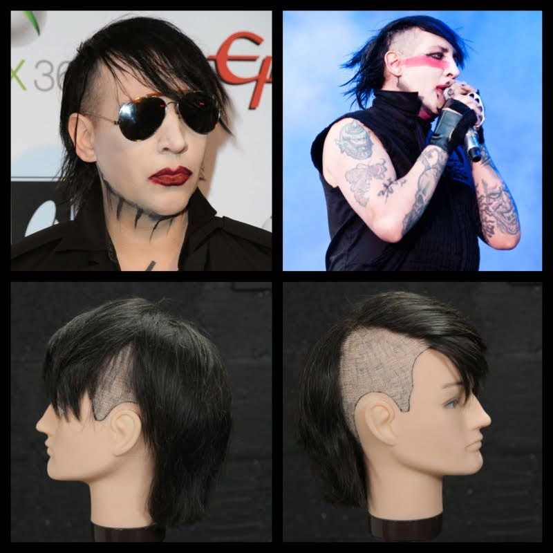 Marilyn Manson Haircut & Hairstyle Tutorial POST YOUR FREE LISTING TODAY! Hair News Network. All Hair. All The Time. http://www.HairNewsNetwork.com