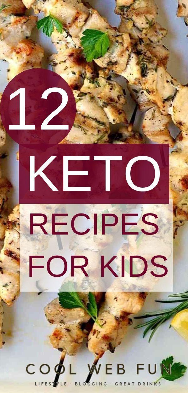 12 Easy Keto Recipes for Kids for the Keto Diet
