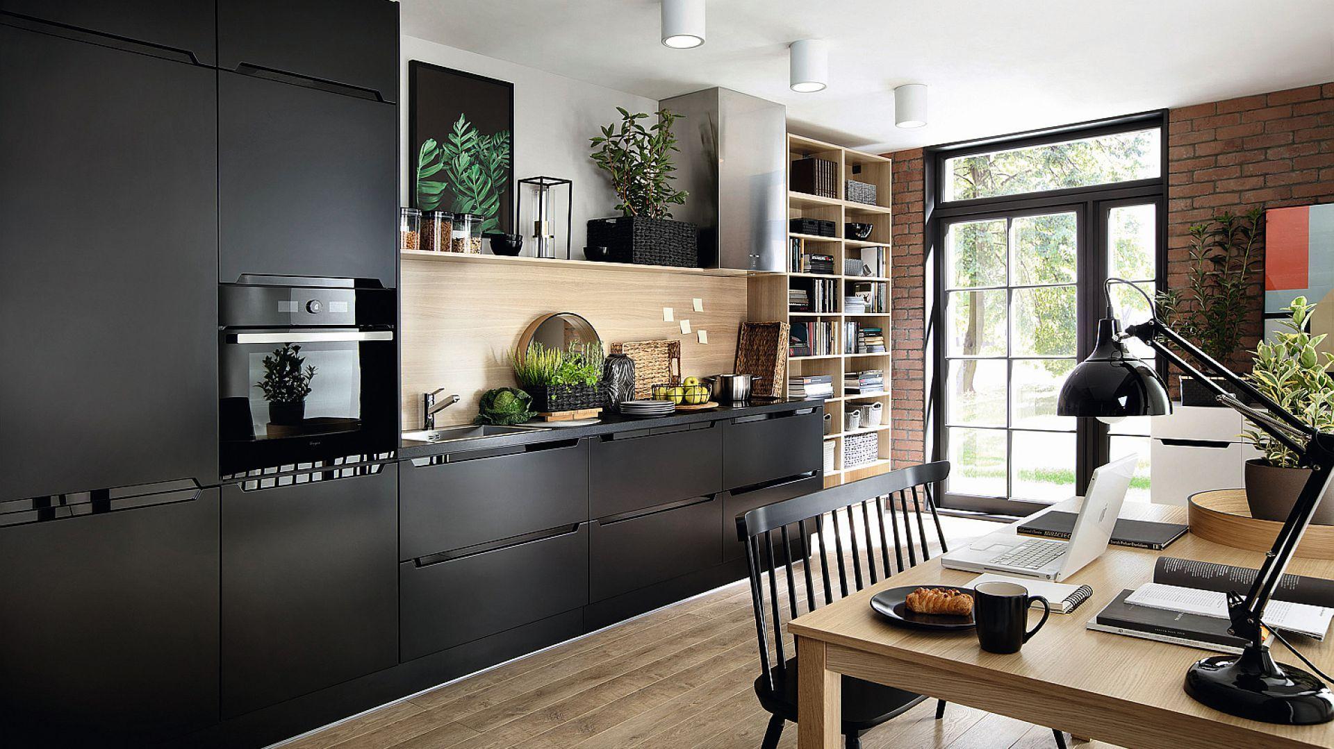 Meble Do Kuchni 12 Kolekcji W Ciemnych Kolorach Home Home Decor Kitchen Design