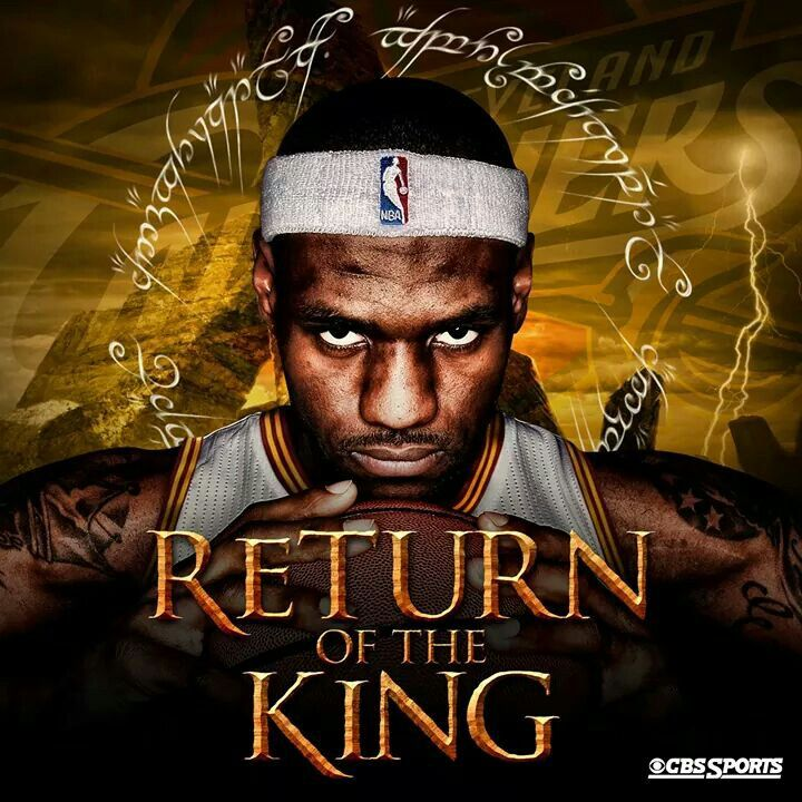 Return Of The King Lebron Akron Cavs Lebron James Nba