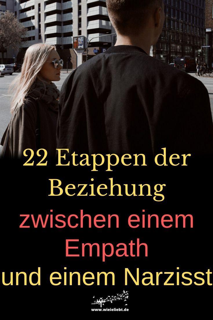 22 Etappen der Beziehung zwischen einem Empath und einem