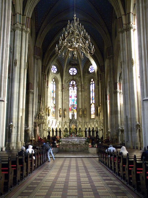 Croatia Holiday Zagreb Croatia Cathedral Marijina Uznesenja Interior View Croatia Croatian Zagreb