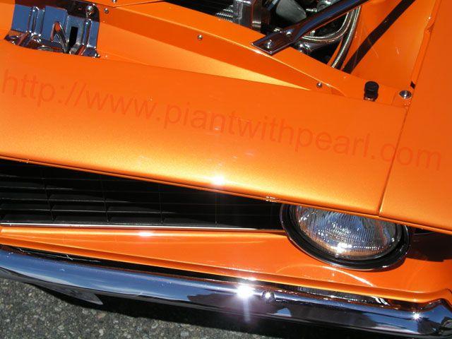 Bright Orange Candy Pearl Orange Metallic Pigment Pearl