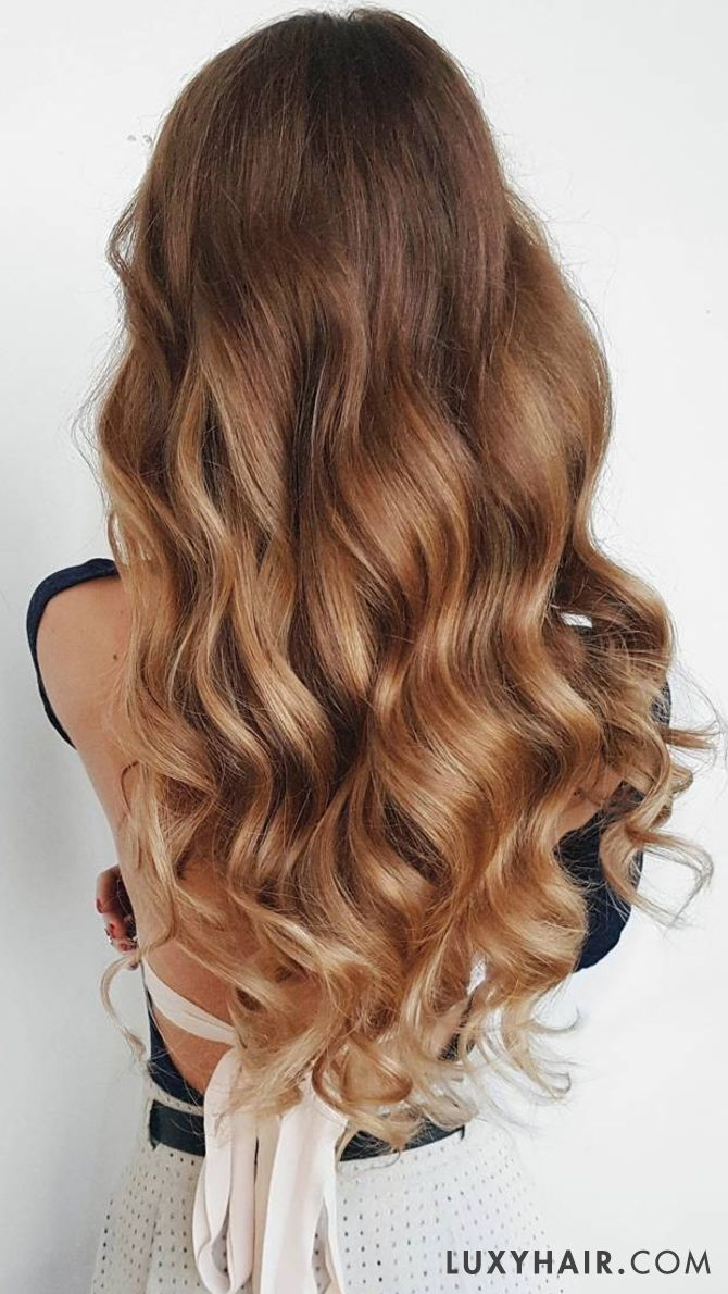 Loving These Gorgeous Waves With Dirty Blonde Luxyhair Extensions