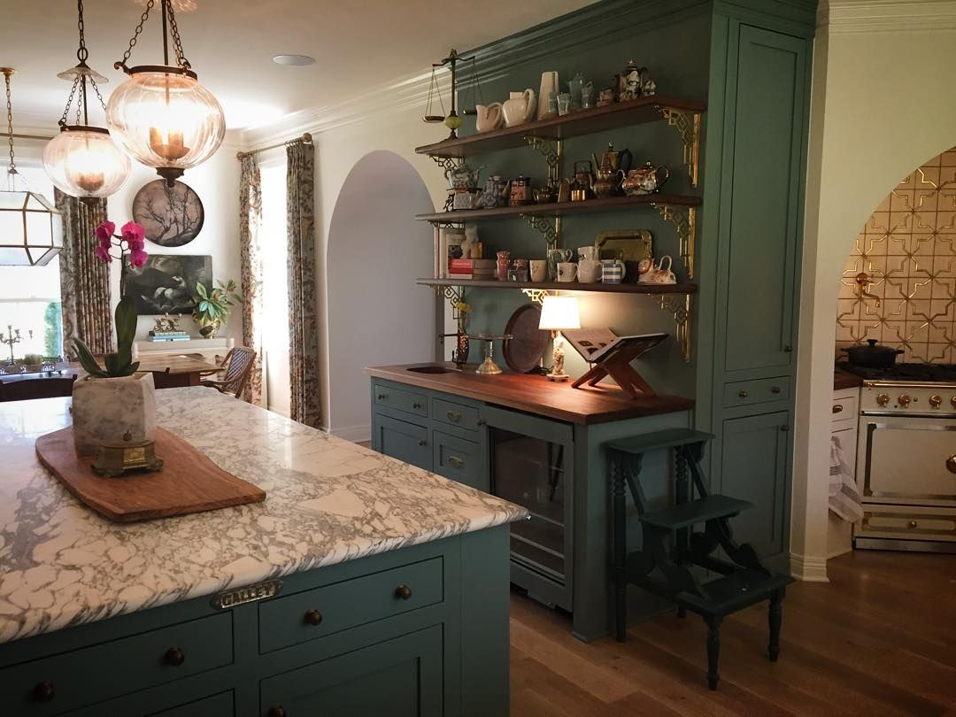 Creating a kitchen special enough to suit the elegant ...
