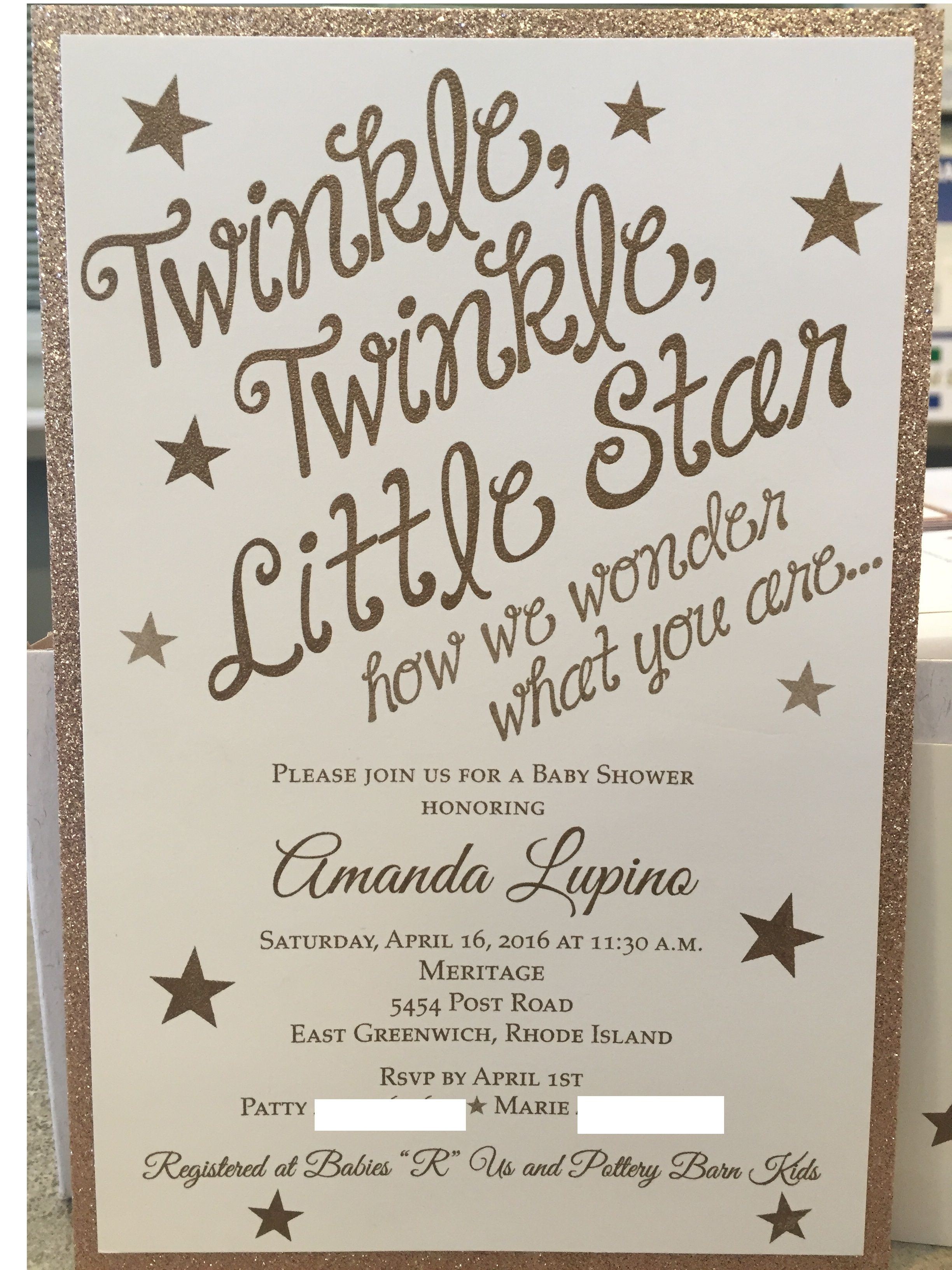 Twinkle, Twinkle, Little Star how we wonder what you are ...