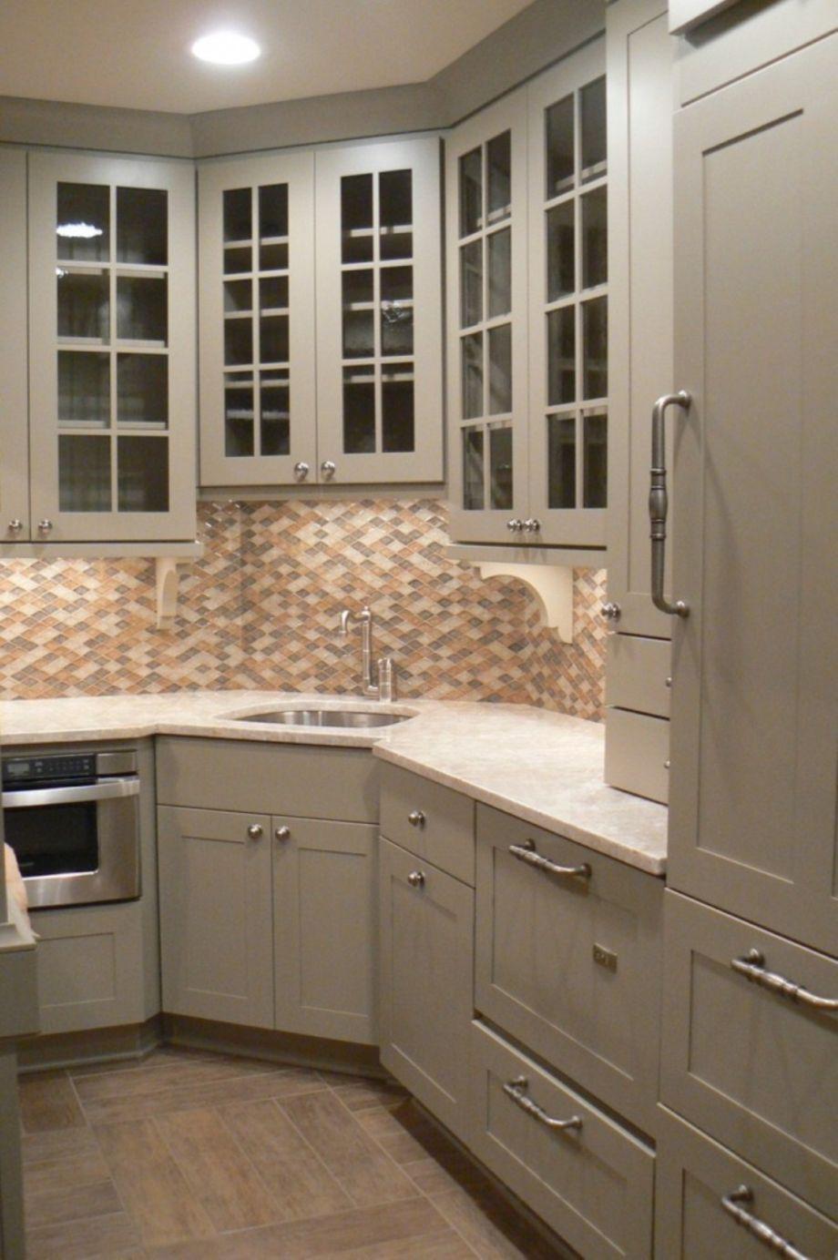65 Stylish Kitchen Designs Ideas With Corner Sinks