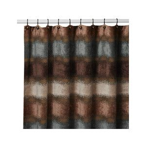 Paradox Fabric Shower Curtain By B Smith