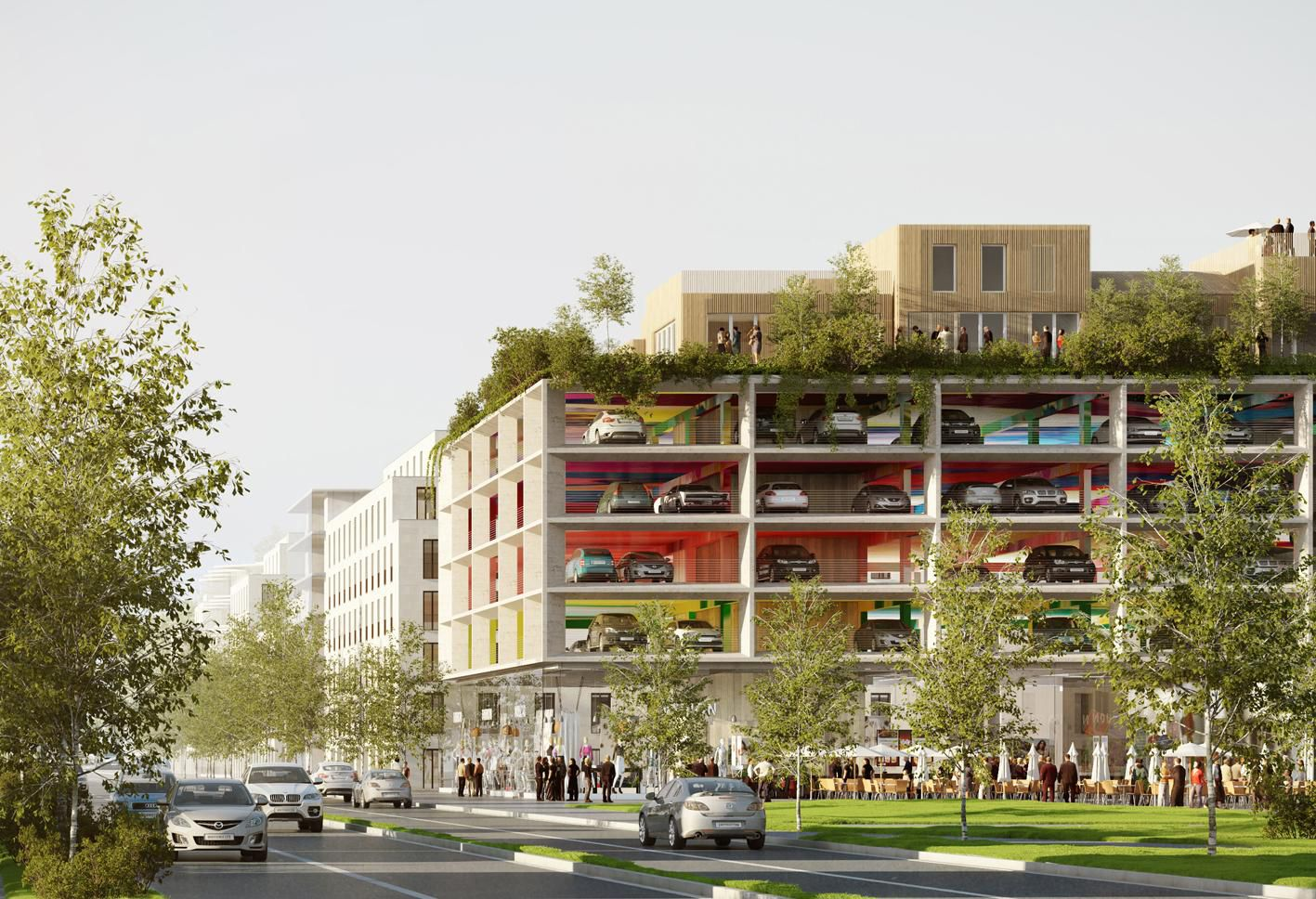 From Car Parks To Culture Parks The New Hubs For City Life Architecture Green Architecture Urban Landscape Design