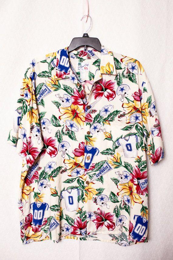 1f3b07b1 Dallas Cowboys Hawaiian Shirt, XL Men's Dallas Cowboy's Hawaiian ...