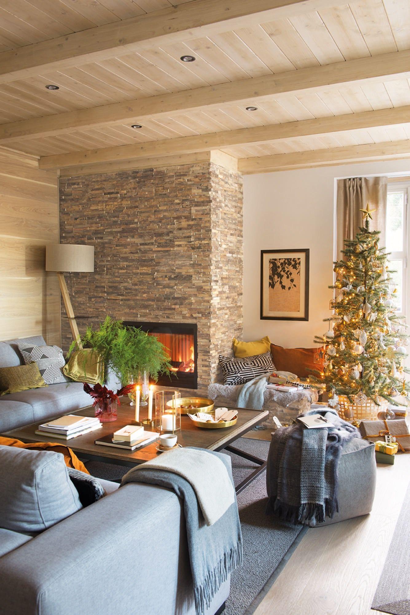 Decoracion de navidad abeto con papel diy motivos for Decoracion navidad piso pequeno