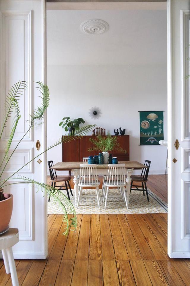 GreenLife 🌱○ Blick vom #wohnzimmer in unser #esszimmer mit