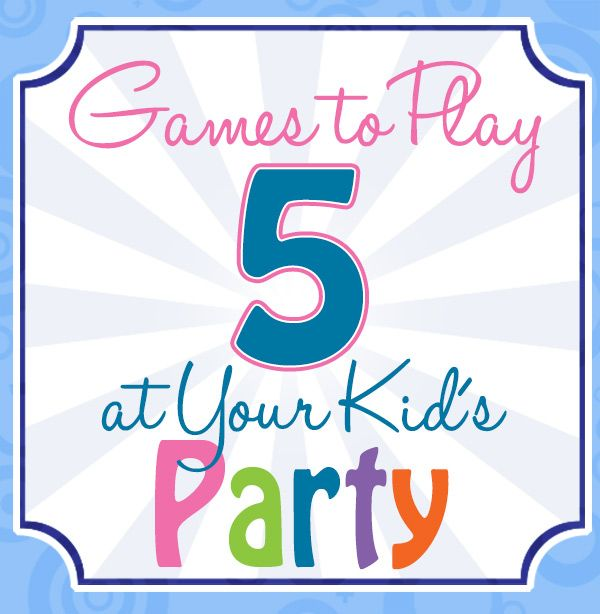 5 Games to Play at Your Kid's Party - Titicrafty by Camila
