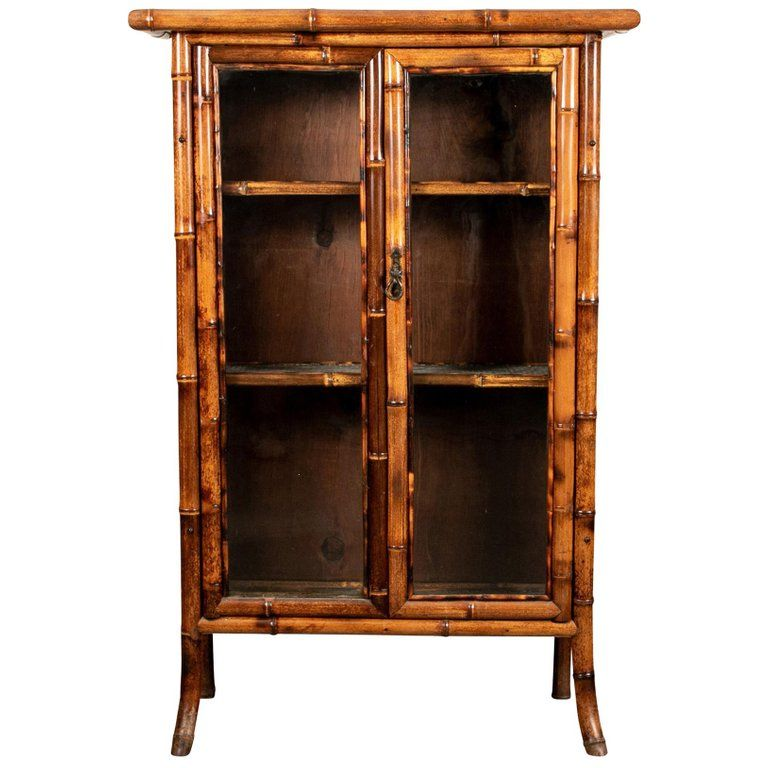 Best 1Stdibs Bamboo Antique Bohemian Cabinet Bamboo Cabinets 400 x 300