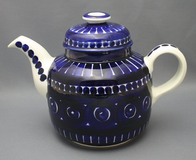 Arabia, teekannu, Valencia, Ulla Procopé | Astiataivas.fi - Vanhojen astioiden ystävien löytöpaikka