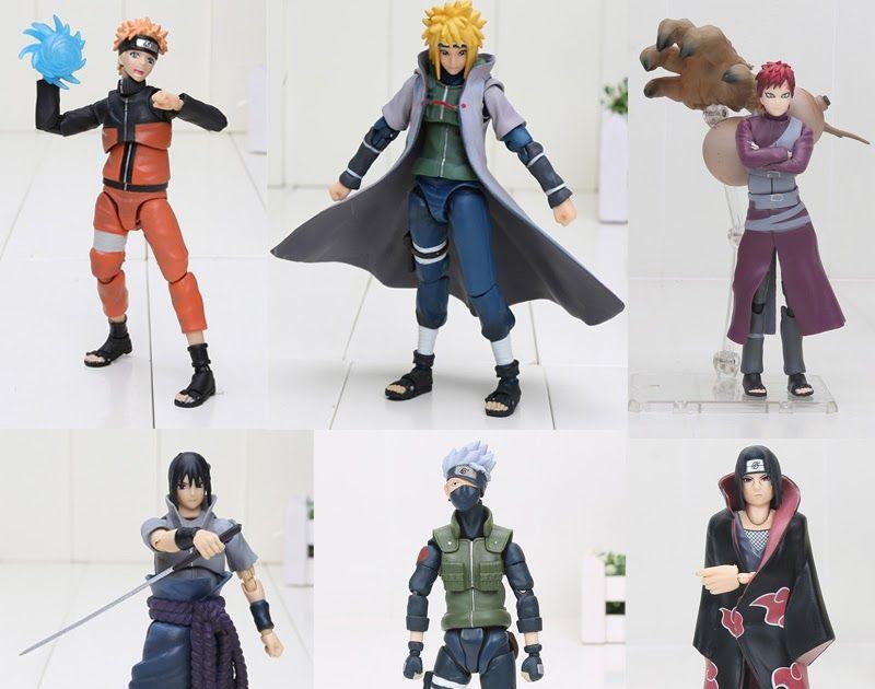Sasuke Uchiha Shippuden Uzumaki SHF Action Figure Statue Display Toy Naruto