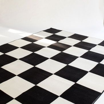 Checker Area Rug Large Black And Off White Checkerboard Area Rug