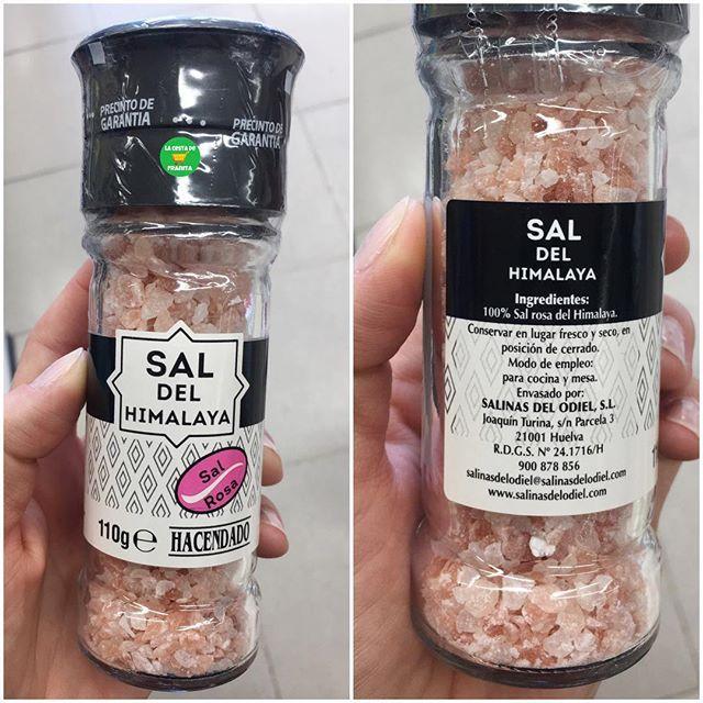 Sal Rosa Del Himalaya Novedad En Mercadona Supermercado