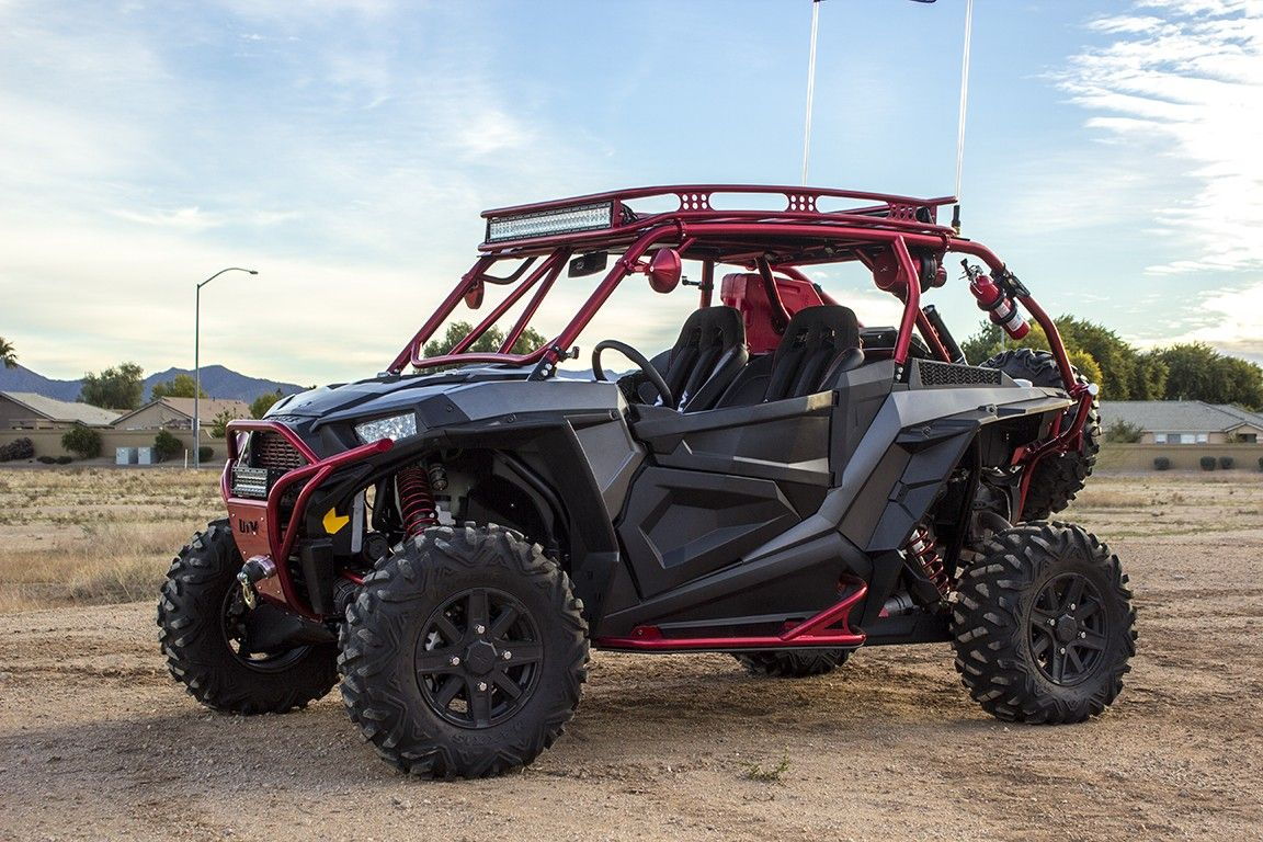 Image result for Polaris Rzr Roll Cage Extension with