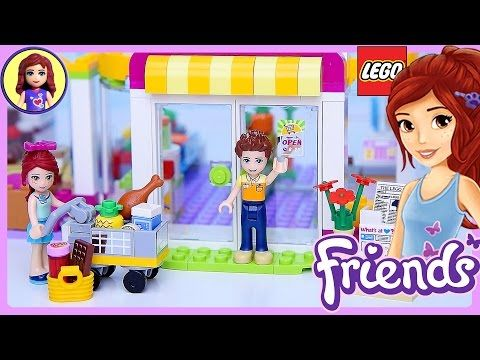 Lego Friends Heartlake Supermarket Set Build Review Play - Kids Toys -  YouTube