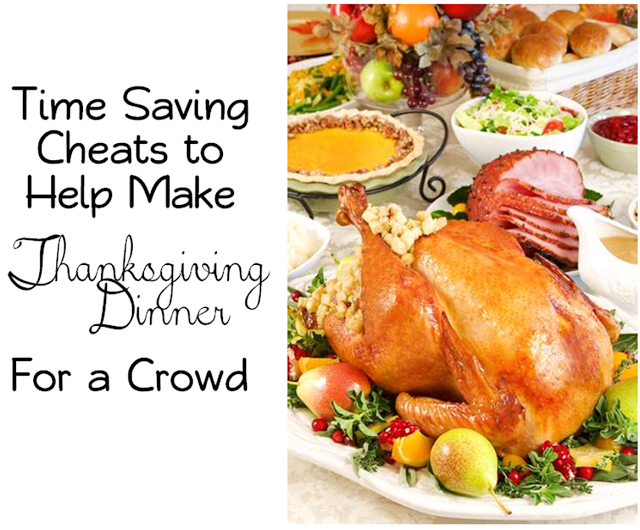 Time Saving Tips For Cooking Thanksgiving Dinner For A