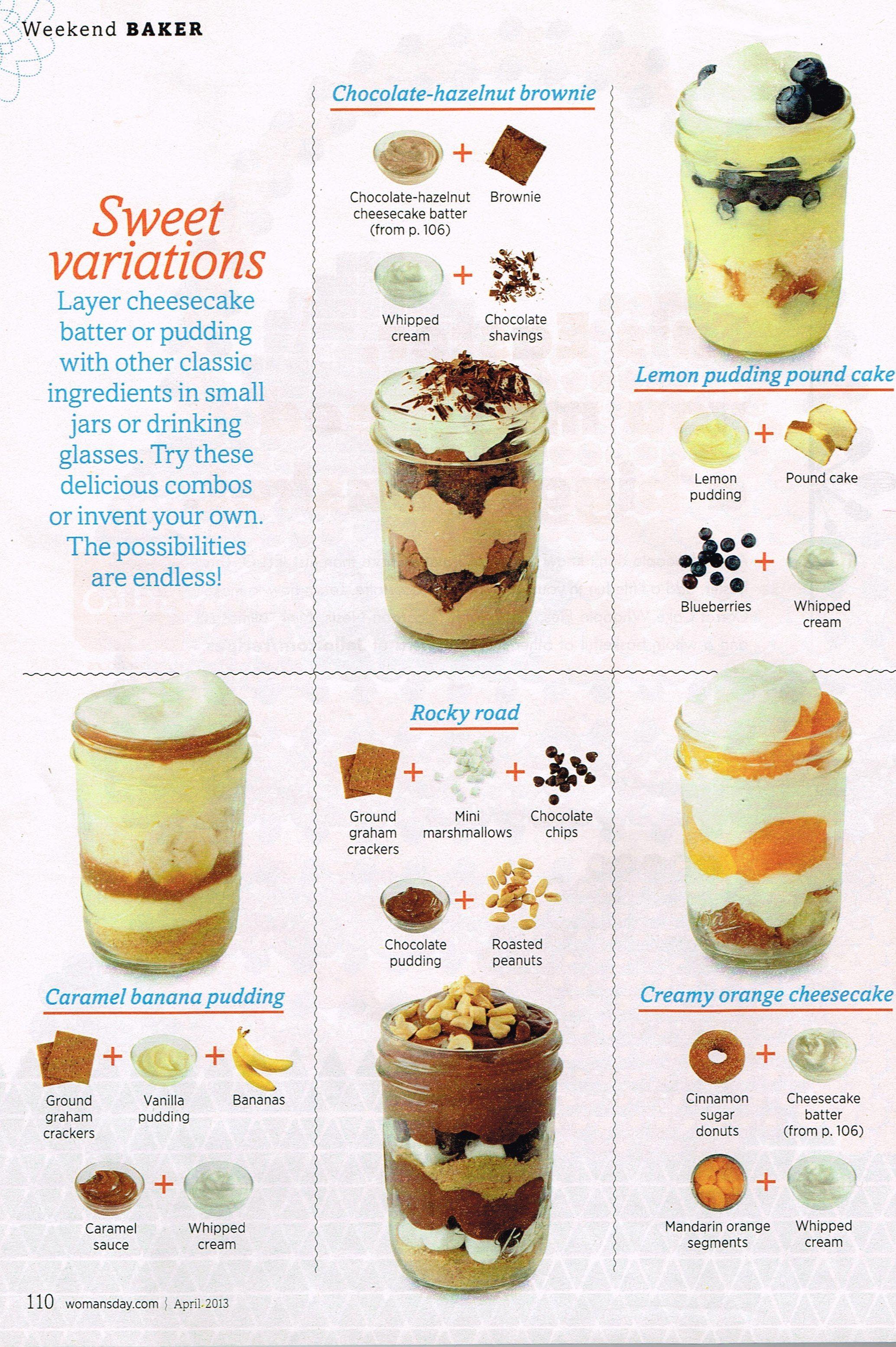 Pin By December Mackedanz On Food Mason Jar Desserts Desserts Mason Jar Meals