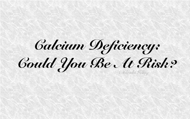 Calcium Deficiency Information