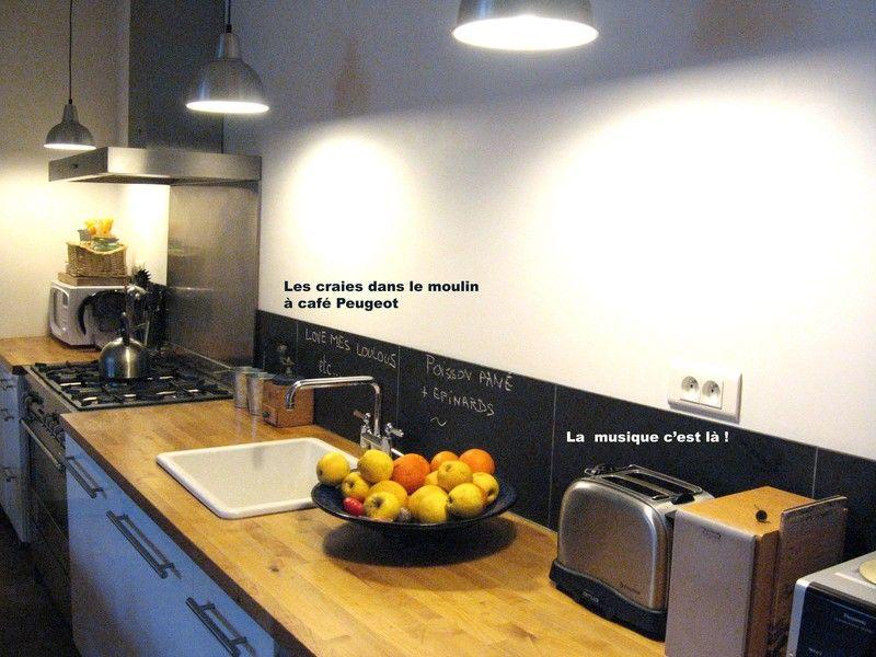 cr dence ardoise cuisine pinterest cr dence carrelage ciment et carrelage. Black Bedroom Furniture Sets. Home Design Ideas