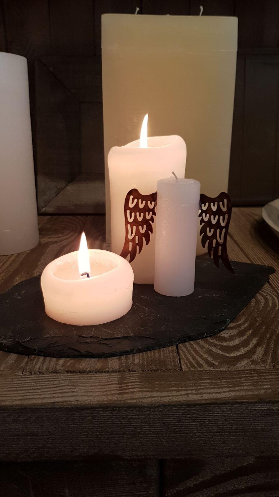 Kerzen Engeln Hochwertig Durchgefarbte Kerzen Aus Eigener
