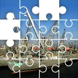 Navy ships Jigsaw Puzzle, 48 Piece Classic.