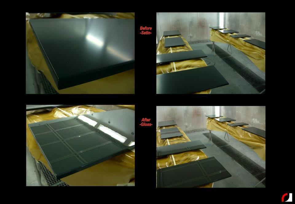 Keukenkastjes Verven Hoogglans : Keukenkastjes keukenfrontjes eerst in zijdeglans gespoten