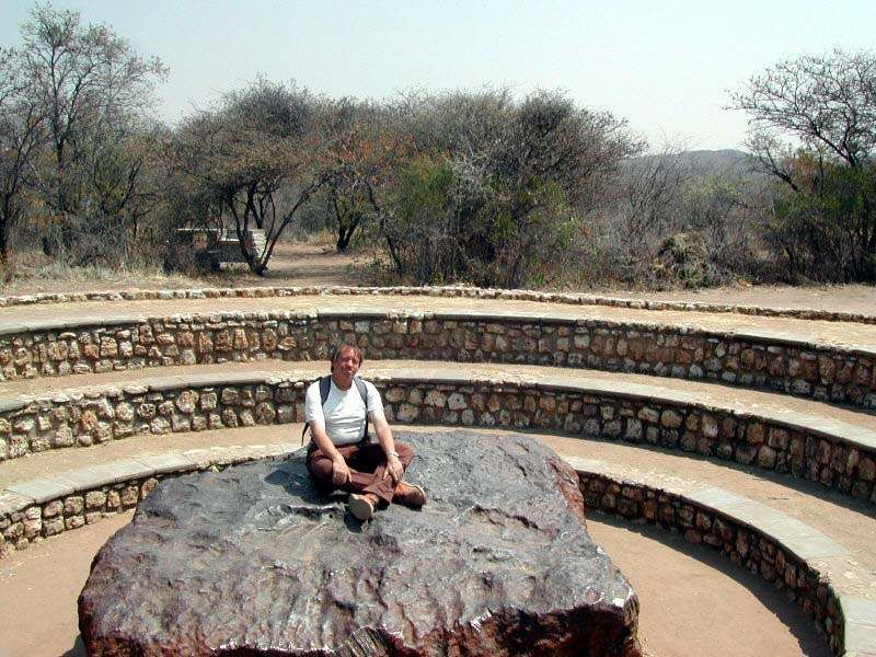 Hoba - the one of its kind.