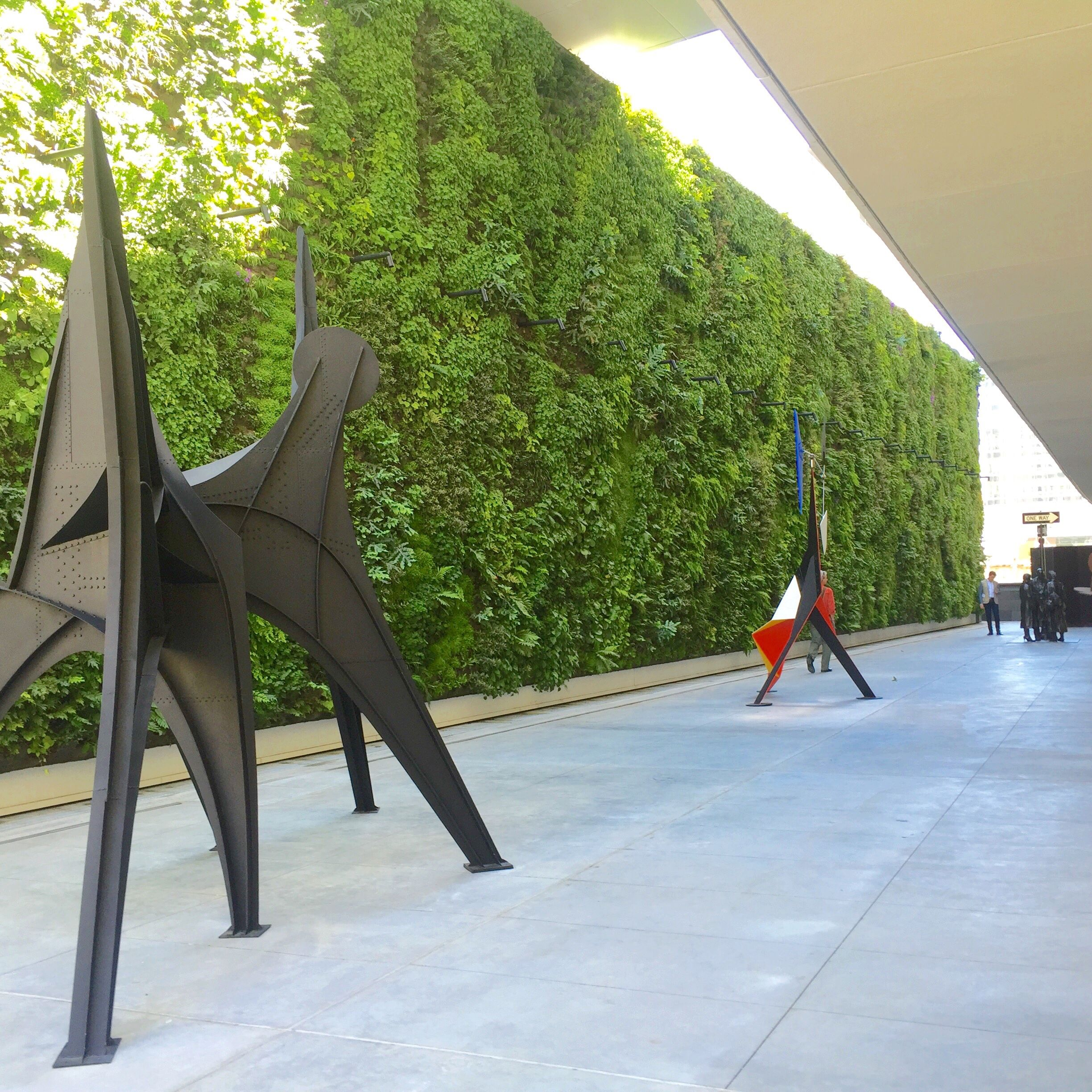 living wall, vertical garden, sfmoma, green wall, snohetta