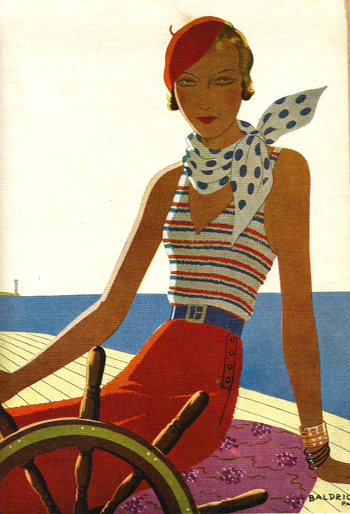 Balandrista. 1934. Baldrich