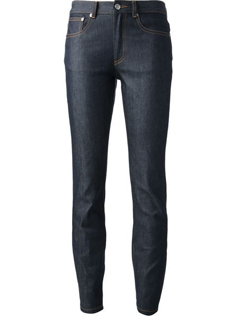 A.P.C. 'Cozzi' Skinny Jeans. #a.p.c. #cloth #jeans