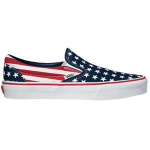 vans bandera americana