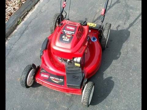 Carburetor Cleaning & TUNE-UP of Toro 6 5HP Lawnmower with