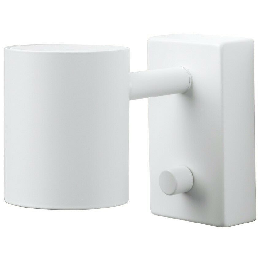 Ikea Nymane Wall Reading Lamp Modern White 702188344456