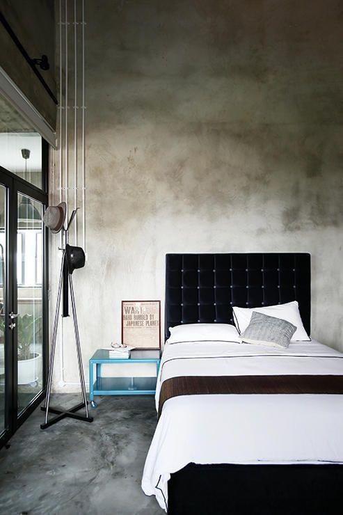 Estrich \u2013 der Fußboden im Industrial Style Wohnzimmer Pinterest - industrial chic wohnzimmer
