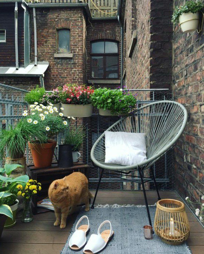 Comment am nager un balcon avec style 55 photos for Idee terrasse originale
