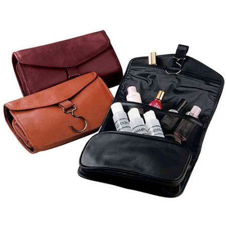 7407a086b8b1 Royce Leather Hanging Toiletry Travel Bag in Genuine Leather