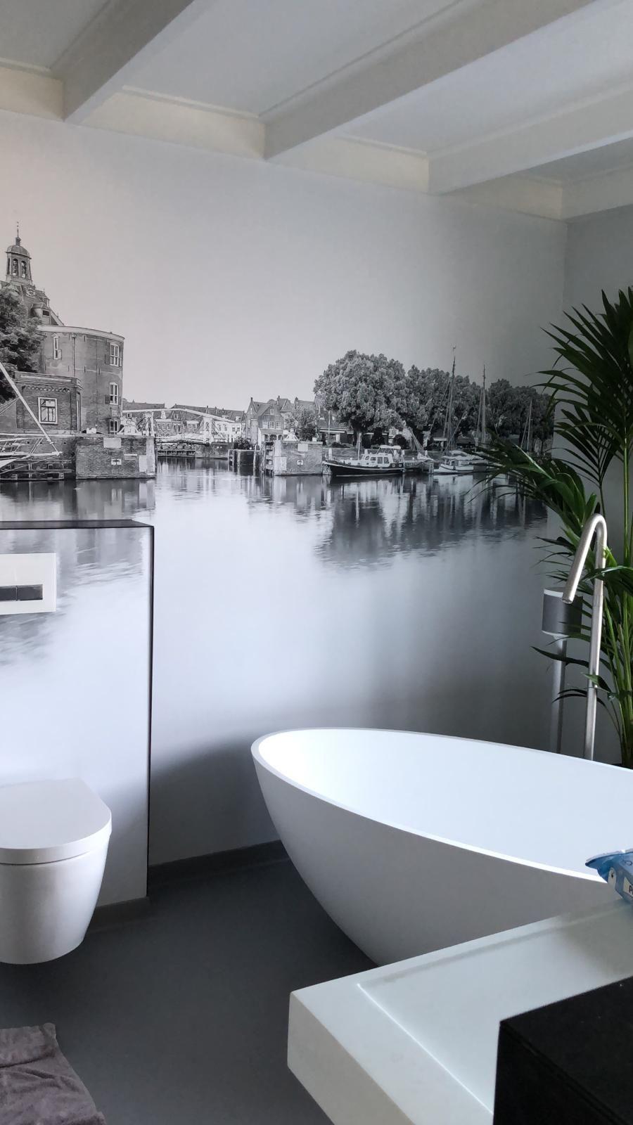 Pin Op Badkamer Wanddecoratie I Werk Aan De Muur