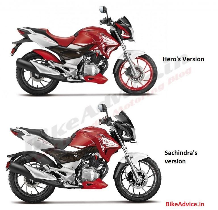 Enthusiast Adds A Bit Of Aggression To The Hero Xtreme 200s Hero