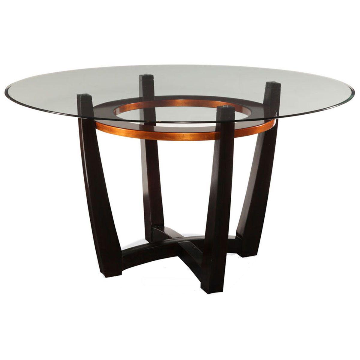 Bassett Mirror Elation Dining Table D1078 700 095ec Mesas De Comedor Comedor Redonda Comedores Pequenos [ 1200 x 1200 Pixel ]