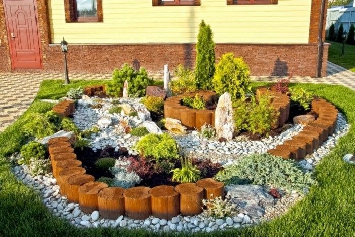 1001+ Ideen zum Thema Blumenbeet mit Steinen dekorieren SL ~ 11055814_Gartengestaltung Ideen Mit Natursteinen
