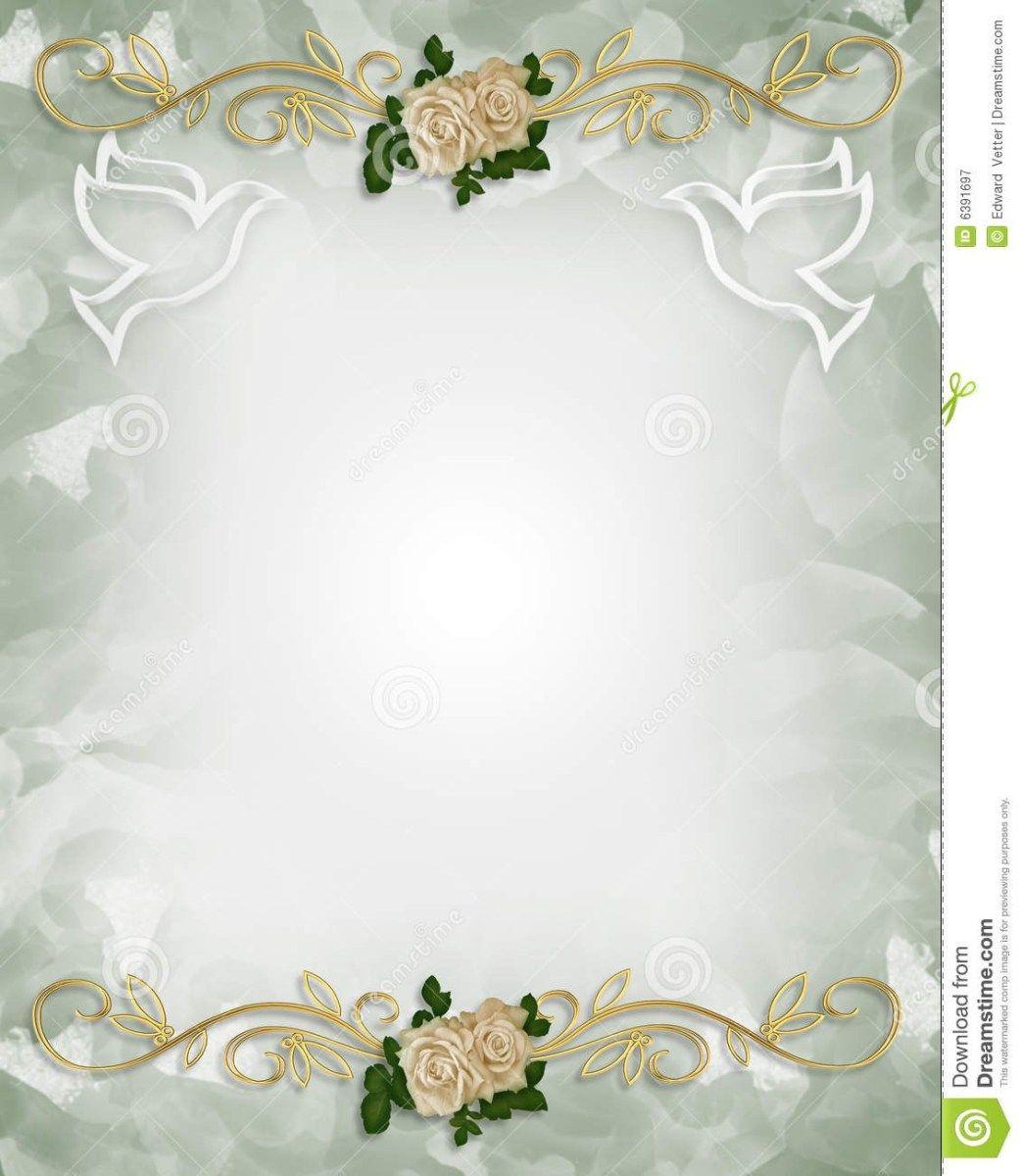 Download Premium Vector Of Flowers Invitation Card Template Vector 679715 Flower Invitation Card Wedding Invitation Card Design Flower Invitation